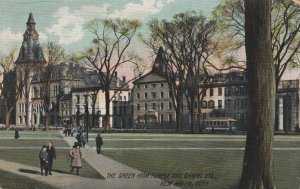 NEW HAVEN , Connecticut, 1911; The Green from Temple & Chapel Sts.