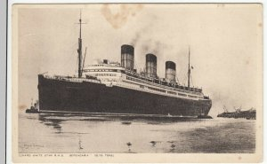 Shipping; Cunard Liner RMS Berengaria PPC, Unposted, c 1930's