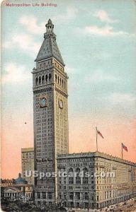 Metropolitan Life Building New York City NY 1910
