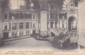 ANVERS , Interieur de la Gare Centrale , Belgium , 00-10s