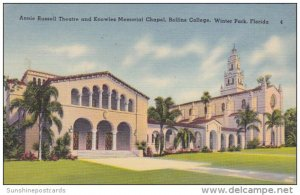 Florida Winter Park Annie Russell Theatre And Knowles Memorial Chapel Rollins...