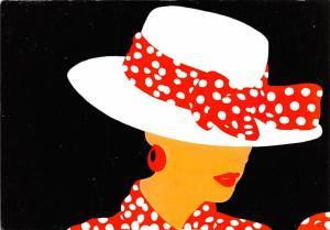 Lady in Hat -