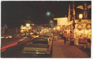 Nighttime Street View, Long Beach, Washington, 40-60s