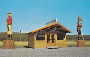 New Tourist Booth , CRANBROOK , B.C. , Canada , 50-60s