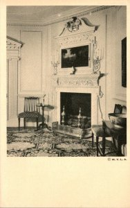 Virginia Mount Vernon Washington's Mansion Mantel In The West Parlor 1949
