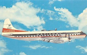 National Airlines Inc. Lockheed L – 188 a Electra Airplane Unused