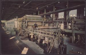 Number 5 Paper Machine,Consolidated papers Inc,WI Postcard
