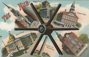 BOSTON, Massachusetts, 1900-10s; The Hub