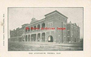 8 Postcards, Topeka Kansas, Auditorium-YMCA-Library-Bridge-Post Office