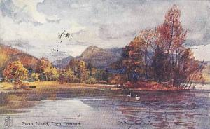 AS: Swan Island, Loch Lomond, Scotland, PU-1908
