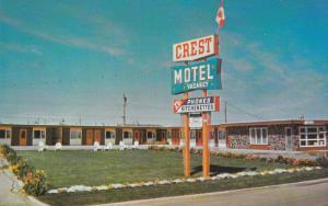 Crest Motel, LETHBRIDGE, Alberta, Canada, 40-60´s
