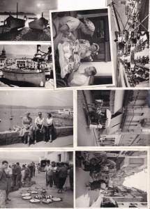 El Cap Roig Calella de Palafrugell Spain Real Photo Vintage Postcard