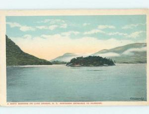 W-Border WATER SCENE Adirondacks - Lake George New York NY hk2827
