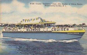 Cruiser Sightseer Captain Otto Stocker Ottens Harbor Wildwood By The Sea New ...