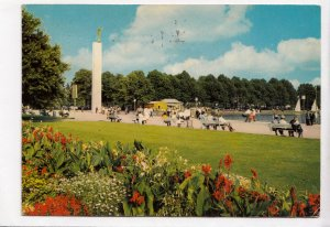 HANNOVER, Partie am Maschsee, 1973 used Postcard