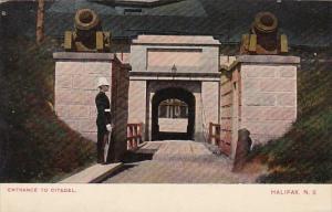 Entrance To Citadel Halifax Nova Scotia Canada