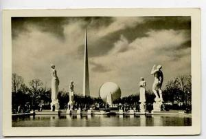 1939 New York Expo Constitution Mall Postcard