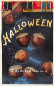 Halloween Postcard Old Vintage Post Card Artist Ellen Clapsaddle Internationa...