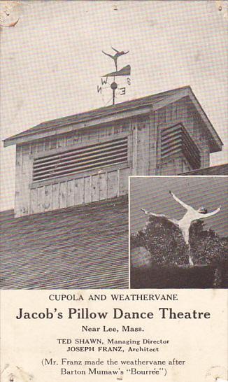 Massachusetts Lee Cupola and Weathervane Jacob's Pillow Dance Theatre