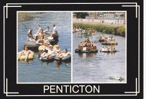 PENTICTON , B.C. , 1950-60s ; Canal Float Race