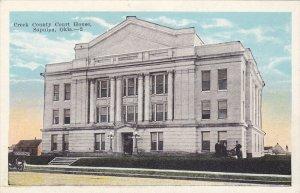 SAPULPA , Oklahoma , 1910s ; Court House