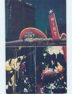 Unused Pre-1980 MINT CASINO HOTEL STEAKHOUSE AND LOUNGE Las Vegas NV B1124