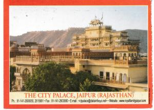 Post Card Asia India Rajasthan - Jaipur  The City Palace