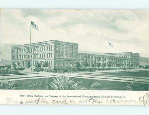 Unused Pre-1907 OFFICE BUILDING FOR CORRESPONDENCE SCHOOLS Scranton PA t3169