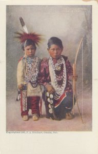 F.A. RINEHART ; Indian Children , 1905