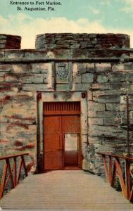 Florida St Augustine Fort Marion Entrance
