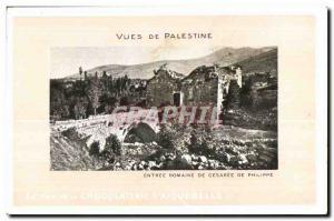 Old Postcard Views of Palestine Entree Romine of Caesarea of Philip