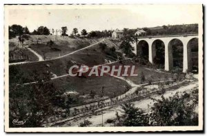 Modern Postcard Neris les Bains New Park