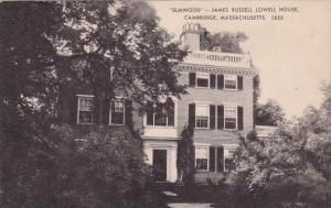 Massachusetts Cambridge Elmwood James Russell Lowell House