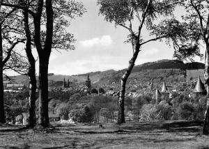 Goslar Ausblick vom Petersberg nach dem Steinberg, Kaiserpfalz, Marktkriche