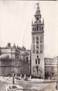Spain Sevilla La Giralda 1963 Real Photo