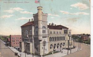Exterior, Post Office, San Antonio, Texas,   PU-00-10s