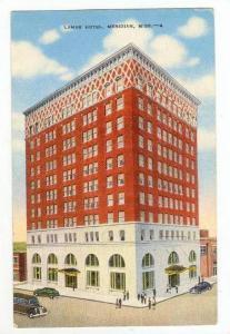 Lamar Hotel,Meridian,Mississipp i,PU-1949