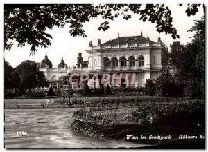 Old Postcard Wien In Hübners Stadtpark Kursalon