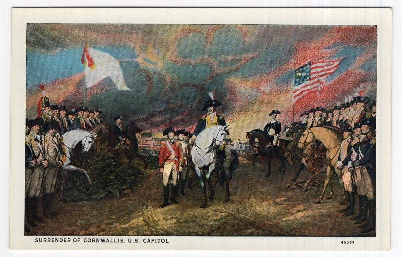 Surrender Of Cornwallis, U.S. Capitol