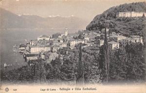 Italy Lago di Como - Bellagio e Villa Serbelloni, Mountains Panorama