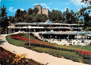 Badenweiler Im Kurpark Promenade Terrace Castle Ruins
