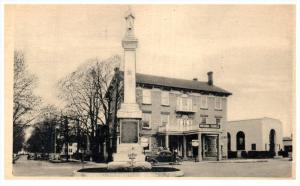 New York Caledonia  , Masonic Temple, Soldier's Memorial Monument