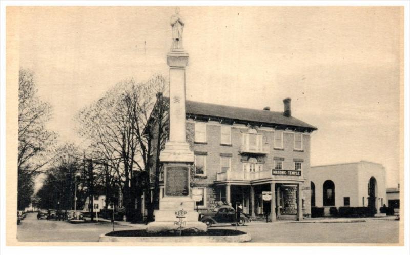 3685 Ny Caledonia Masonic Temple Memorial Monument