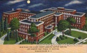 Baptist Hospital and Bowman Gray School of Medicine, Winston Salem, N.C. Unused