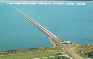 Louisiana Lake Ponchartrain Causeway The World's Longest Bridge