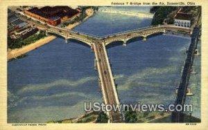 Famous Y Bridge - Zanesville, Ohio