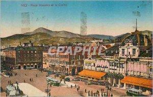Postcard Old Nice Place Massena and Casino