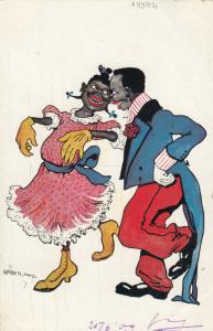 AS UOBER, 1900-10s; Couple Dancing # 1