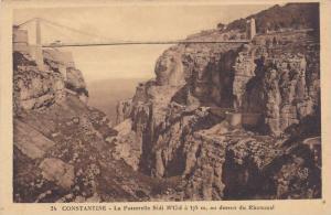 La Passerelle Sidi M'Cid A 175 m, Au Dessus Du Rhummel, Constantine, Algeria,...