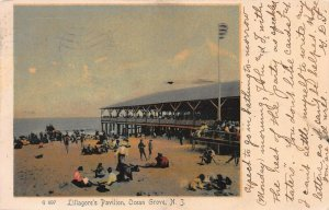 Lillagore's Pavilion, Ocean Grove, New Jersey, Early Postcard, Unused